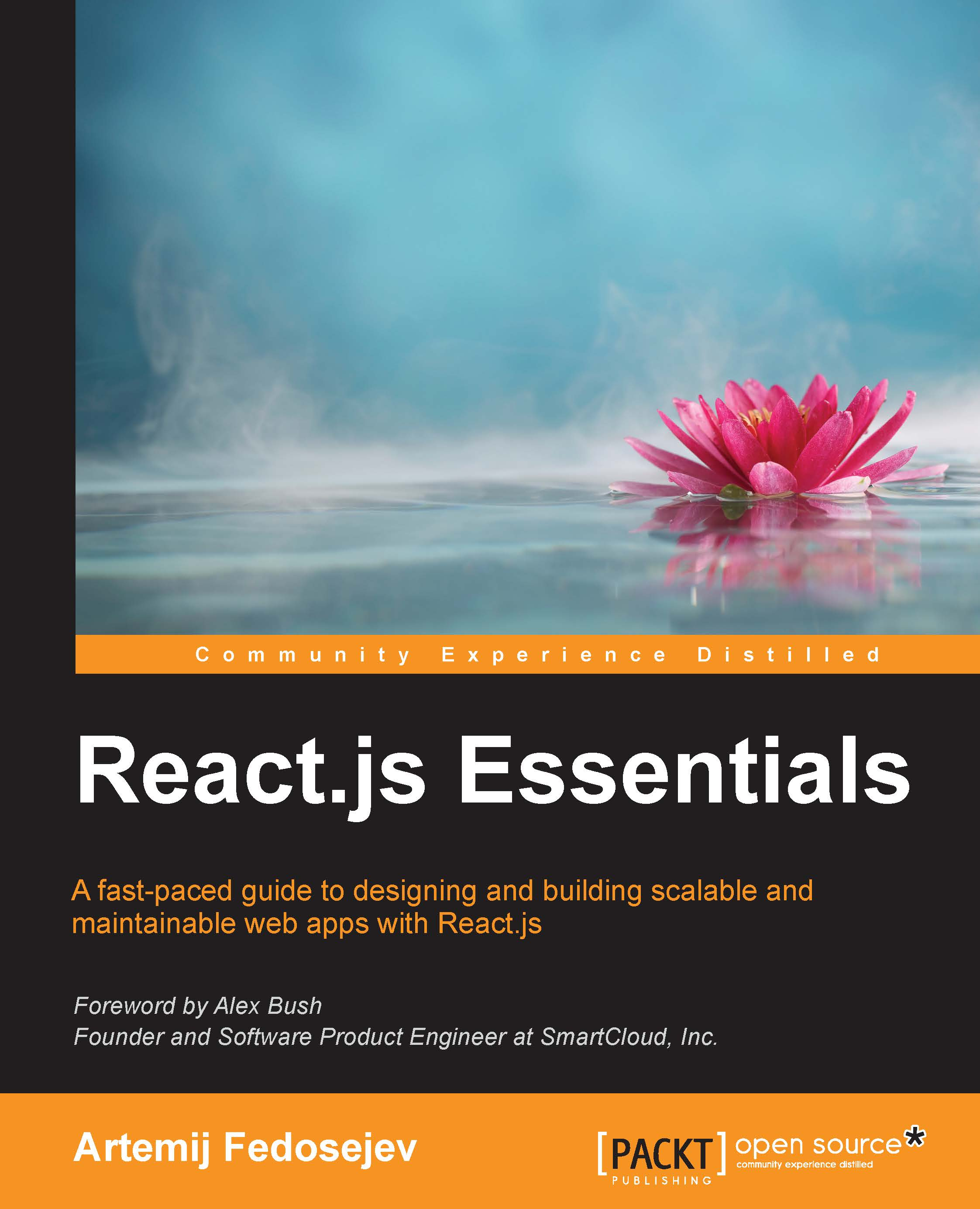 React.js Essentials english book cover